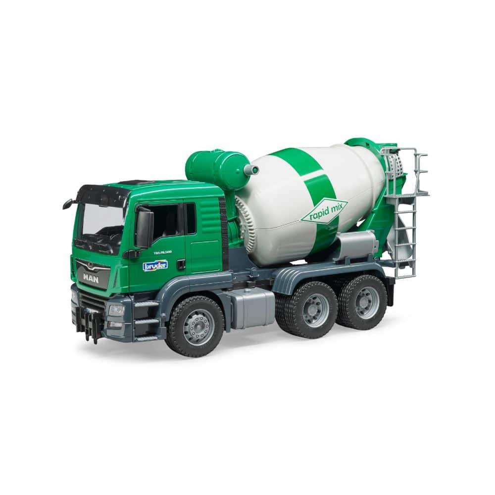 Bruder Man Tgs Cement Mixer Truck Vehicle