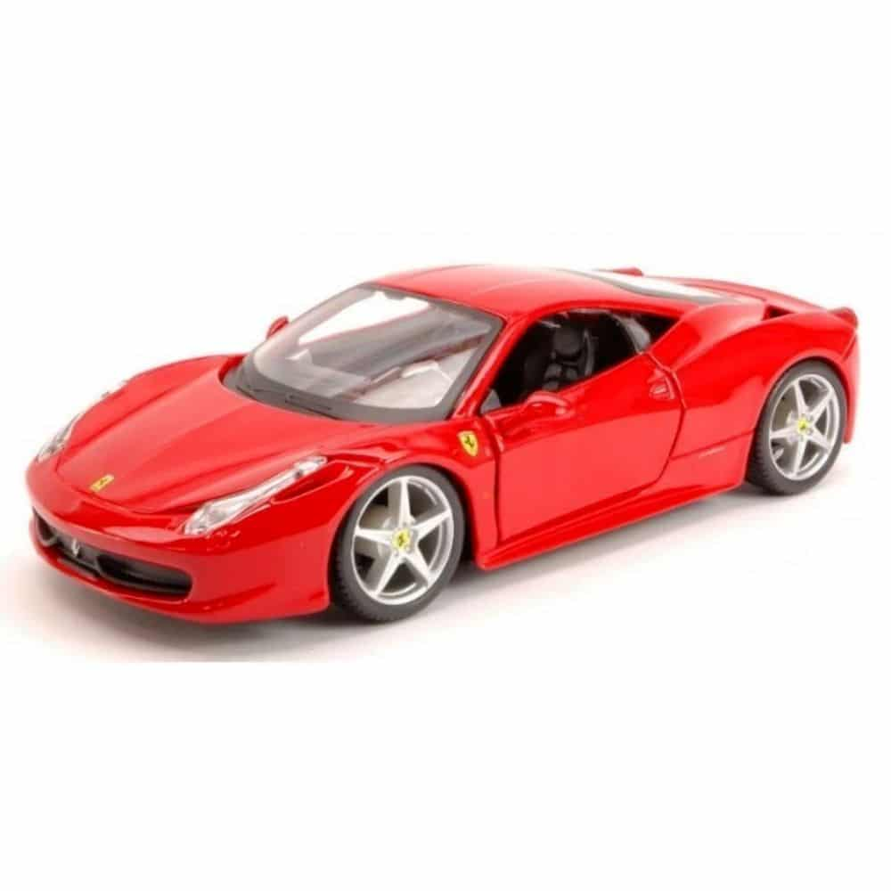 Burago Ferrari 458 Italia 1 24 Diecast Model The Model Shop