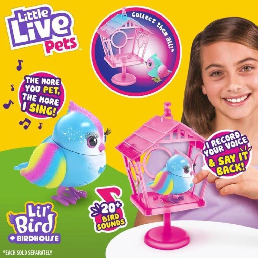 Little Live Pets Lil Bird And House The Model Shop